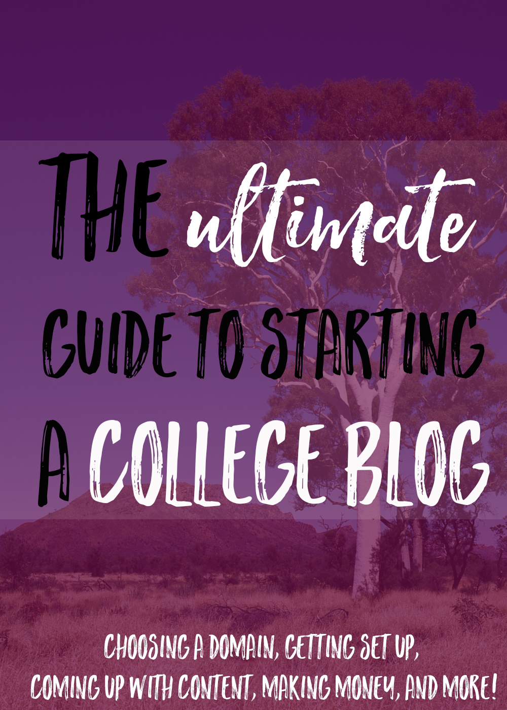 starting a college blog